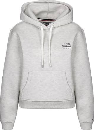 Clean W Hoodie light grey hthr Tommy Jeans