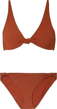 Vente Nouvelle Arrivée Tory Burch Bikini à Noeuds Biarritz - Rouge brique Pas Cher Professionnel O1XXkfwehP