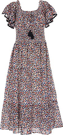 Dress for Women, Evening Cocktail Party On Sale, Multicolor, poliestere, 2017, 10 8 Tory Burch