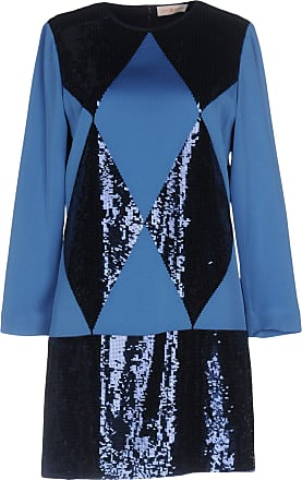 Dress for Women, Evening Cocktail Party On Sale in Outlet, navy, Viscose, 2017, 10 Tory Burch