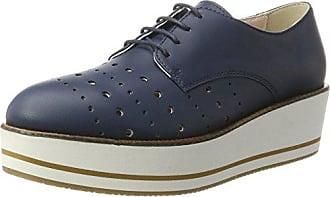 Blu Rugueux De Jade, Derby Chaussures À Lacets Pour Les Femmes, Noir (c99), 36 Eu