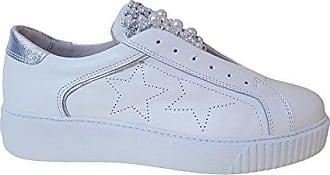 Blu Eu Femme C00 39 Tosca Basses Flamenco Sneakers Blanc Bianco 6qxwTp