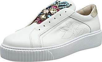 Tosca Blu Shoes Damen Alexa High-Top, Weiß (C00), 41 EU