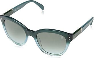 mixte adulte Lowdown Slim 9O 6Xt 54 Montures de lunettes, Turquoise (Solid Azure/Dark Grey Shaded)Smith