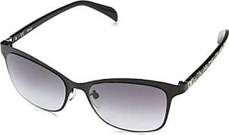 Tous Damen Sonnenbrille STO916S550700, Schwarz (Shiny Black), 55