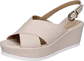 Damen Sandalen Beige Beige, Beige - Beige - Größe: 39 EU Très Jolie