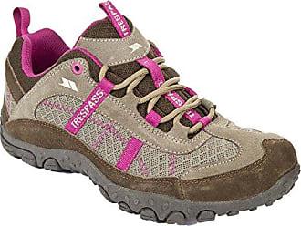 Trespass Bluebottle - Zapatillas de Atletismo de Cuero para Mujer Verde Green (Mallard) 39 1/3 K5NceNX