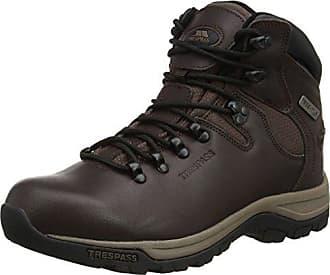 Renton - High Rise Hiking Hombre, Color Negro, Talla 43 Trespass
