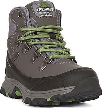 Trespass Glebe, Chaussures de Randonnée Hautes Mixte Enfant, Gris (Gull), 28 EU