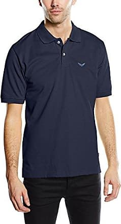 Trigema 621621, Polo Homme, Bleu (Aqua 050), S