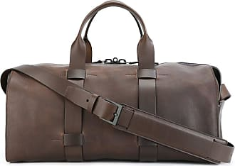 Dark Brown Jasper Weekender Leather Bag Lucl xNLLX1e