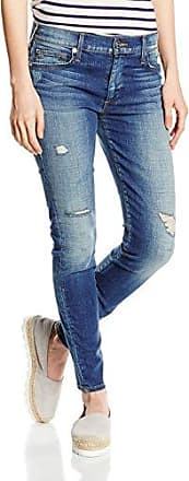 True Religion Halle Super Skinny, Pantalones para Mujer, Green (Olive Drab), W23