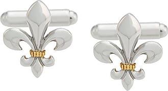 True Rocks fleur de lys cufflinks - Metallic E8Yg6