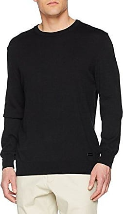 Round Neck Knit, Jersey para Hombre, Rosso (Bordeaux), Small Trussardi