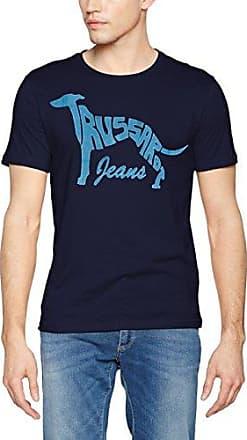 52T00076-1T000790-U290, Camiseta para Hombre, Azul (BLU Navy U290), M Trussardi
