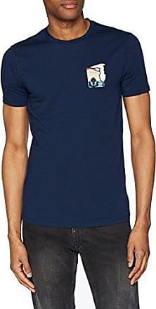 52T00103-1T000786-U290, Camiseta para Hombre, Azul (BLU Navy U290), S Trussardi