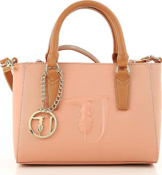 Tote Bag On Sale, Pink, Eco Leather, 2017, one size Trussardi