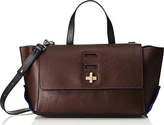 by Trussardi Womens Top-Handle Bag brown Dark Brown (Testa di moro) 35 cm Trussardi WkiZh8zB
