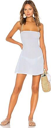 Raquel Mini Dress in Baby Blue. - size M (also in L,S,XS,XXS) Tularosa