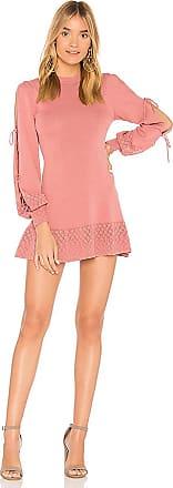 Arlene Polka Dot Dress in Coral. - size M (also in L,S,XS,XXS) Tularosa