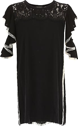Dress for Women, Evening Cocktail Party On Sale, Black, Viscose, 2017, 10 6 8 Twin-Set