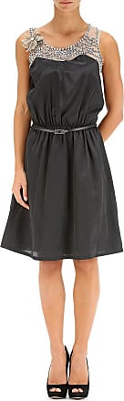 Dress for Women, Evening Cocktail Party On Sale, Black, Cotton, 2017, 10 12 8 Twin-Set