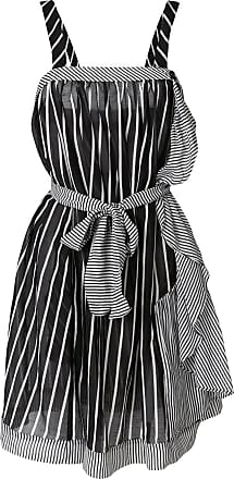 striped frill trim mini dress - Black Twin-Set CozSM1Gd