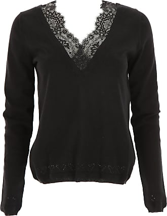 Sweater for Women Jumper On Sale, Melange Grey, Mohair, 2017, 10 12 14 6 8 Twin-Set