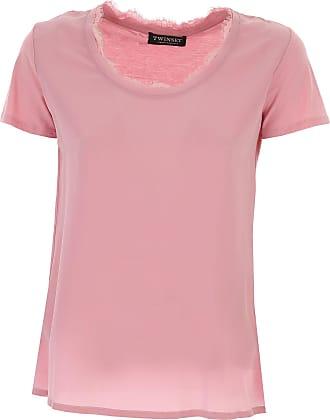 Shirt for Women On Sale, Sky Blue, Cotton, 2017, XXS (IT 36) Twin-Set