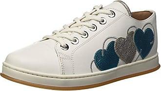 Cs8pjj, Zapatillas de Gimnasia para Mujer, Blanco (BIC.Ottico Turchese), 38 EU Twin-Set