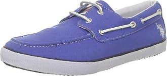 US Polo Assn Dottie Dottie_Bleu (Blu) - Zapatillas de deporte de tela para mujer, color azul, talla 39