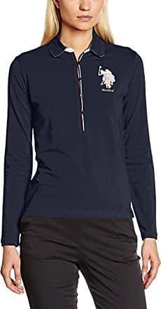 Travel R.Neck Knit, Haut Thermique Femme, Fuscia, MU.S.Polo Association
