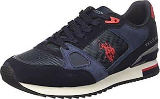 U.S.Polo ASSN. Trev, Zapatillas para Hombre, Azul (Dark Blue Dkbl), 43 EU