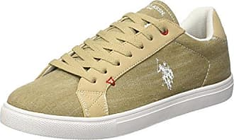 U.S.Polo ASSN. Tunis, Zapatillas para Hombre, Beige (Beige BEI), 40 EU U.S.Polo Association