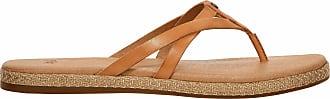 UGG »Annice« Sandale, mit bequemer Leder-Innensohle, braun, hellbraun