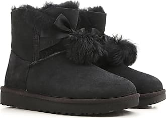 Boots for Women, Booties On Sale, Black, Suede leather, 2017, USA 5 UK 3 5 EU 36 JAPAN 220 USA 6 UK 4 5 EU 37 JAPAN 230 USA 7 UK 5 5 EU 38 JAPAN 240 UGG