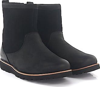 Stiefeletten Boots ABREE SHORT 2 Veloursleder schwarz Lammfell UGG PAIxlN