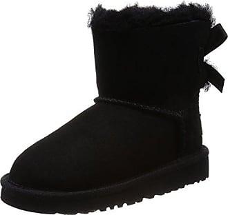 UGG Bailey Button Black, Schuhe, Stiefel & Boots, Stiefel aus Schafsleder, Schwarz, Female, 36