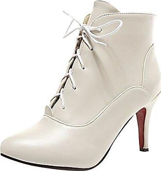 SHOWHOW Damen Sexy Klassischer Winter Boots Spitz High Heels Damenstiefel Grün 40 EU te1CVx