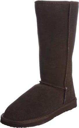 UKALA Sydney High Chestnut Knee High, Bottes femme - Châtaigne, 36 EU