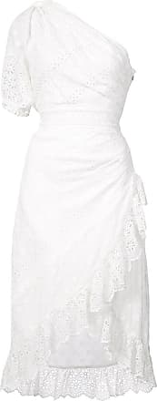 embroidered one shoulder dress - White Ulla Johnson We0yHQByPC