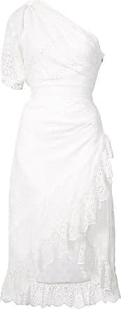 embroidered one shoulder dress - White Ulla Johnson um0UFf