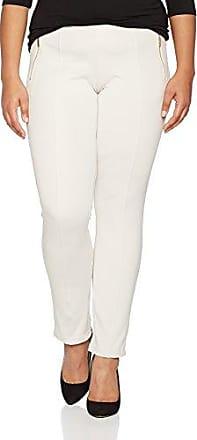 mit Tupfenprint/mit Minimalprint - Pantalon Femme, Ivoire (soft nude 20C6), W30 (Taille fabricant: 38)s.Oliver