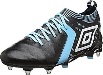 Medusæ II Premier HG, Chaussures de Football Homme, Noir (Black/White/Bluefish), 44 EUUmbro
