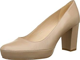 Numar_18_Na, Zapatos de Tacón para Mujer, Beige (Tawny), 40 EU Unisa