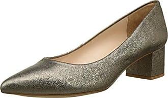Unisa Brel Platino, Schuhe, Flache Schuhe, Ballerinas, Beige, Braun, Gold, Female, 36
