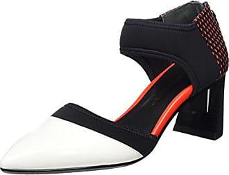 Fold Lite Mid - Zapatos de Tacón Mujer, Color Multicolor, Talla 38 United Nude