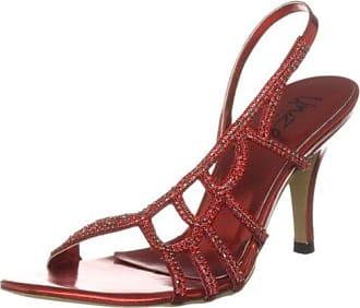 Unze Evening Sandals, Sandali donna, Rosso (Rot (L18271W)), 37