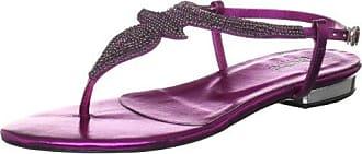 Florence - Sandalias Romanas para mujer, color mehrfarbig (holo purple), talla 41 P1 Footwear