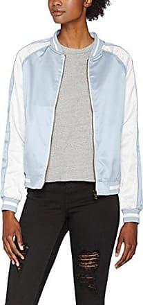 Urban Classics Ladies Light Bomber Jacket - Chaqueta Mujer, color Blanco (white 220), talla 42 (Talla del fabricante: XL)